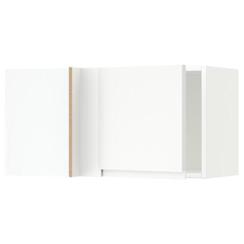 Шкаф навесной угловой МЕТОД белый артикуль № 491.242.78 в наличии. Онлайн магазин ИКЕА Беларусь. Недорогая доставка и установка.