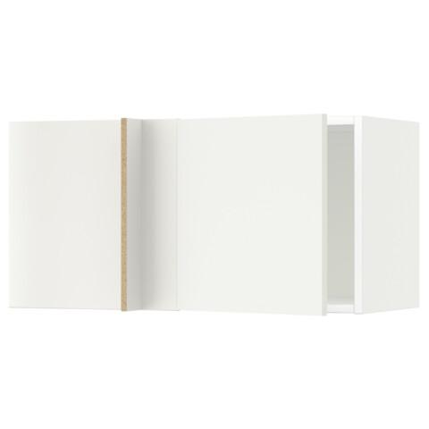 Шкаф навесной угловой МЕТОД белый артикуль № 791.241.92 в наличии. Online магазин IKEA Республика Беларусь. Быстрая доставка и установка.