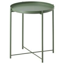 Стол сервировочный ГЛАДОМ темно-зеленый артикуль № 103.306.70 в наличии. Интернет магазин IKEA РБ. Быстрая доставка и установка.