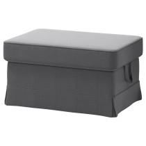Табурет для ног ЭКТОРП темно-серый артикуль № 091.649.02 в наличии. Онлайн каталог ИКЕА РБ. Недорогая доставка и монтаж.