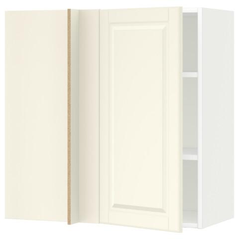 Угловой навесной шкаф с полками МЕТОД белый артикуль № 091.240.82 в наличии. Онлайн каталог IKEA Беларусь. Быстрая доставка и установка.