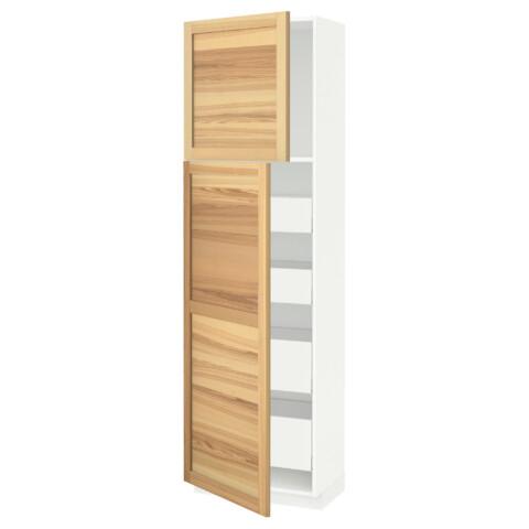 Высокий шкаф/2дверцы/4ящика МЕТОД / МАКСИМЕРА белый артикуль № 891.692.79 в наличии. Интернет каталог IKEA Минск. Быстрая доставка и установка.