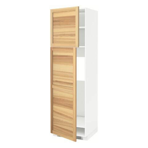 Высокий шкаф для холодильника, 2 дверцы МЕТОД белый артикуль № 791.347.23 в наличии. Online каталог ИКЕА РБ. Недорогая доставка и монтаж.