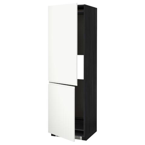 Высокий шкаф для холодильника или морозильник МЕТОД белый артикуль № 191.114.75 в наличии. Онлайн сайт IKEA РБ. Недорогая доставка и установка.
