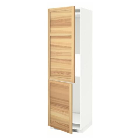 Высокий шкаф для холодильника или морозильник МЕТОД белый артикуль № 791.347.18 в наличии. Онлайн сайт IKEA Республика Беларусь. Недорогая доставка и соборка.