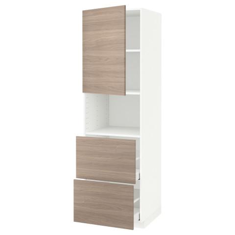Высокий шкаф для СВЧ/дверца/2ящика МЕТОД / МАКСИМЕРА белый артикуль № 191.699.18 в наличии. Интернет каталог IKEA РБ. Недорогая доставка и установка.