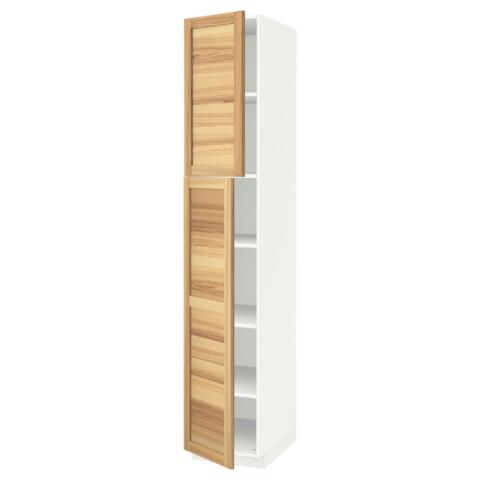 Высокий шкаф с полками, 2 дверцы МЕТОД белый артикуль № 991.640.83 в наличии. Интернет каталог IKEA Республика Беларусь. Недорогая доставка и установка.