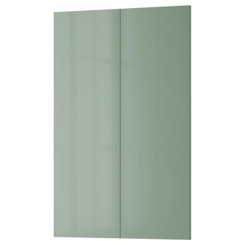 Дверца для напольного углового шкафа, 2 штуки КАЛЛАРП светло-зеленый артикуль № 403.365.76 в наличии. Online магазин IKEA Республика Беларусь. Быстрая доставка и установка.