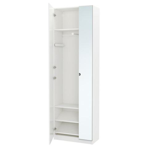 Гардероб ПАКС белый артикуль № 191.611.30 в наличии. Интернет сайт IKEA Минск. Недорогая доставка и монтаж.