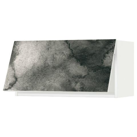 Горизонтальный навесной шкаф МЕТОД белый артикуль № 991.589.25 в наличии. Интернет магазин ИКЕА Минск. Быстрая доставка и установка.