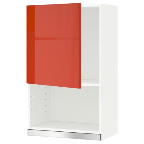 Навесной шкаф для СВЧ-печи МЕТОД оранжевый артикуль № 191.588.11 в наличии. Онлайн каталог IKEA Минск. Недорогая доставка и установка.