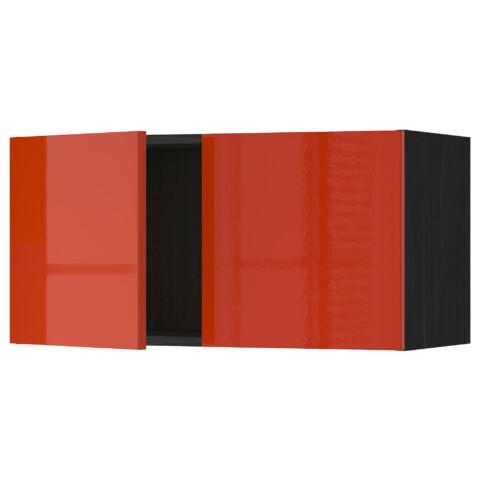 Навесной шкаф с 2 дверями МЕТОД оранжевый артикуль № 291.587.59 в наличии. Online магазин IKEA Беларусь. Быстрая доставка и установка.