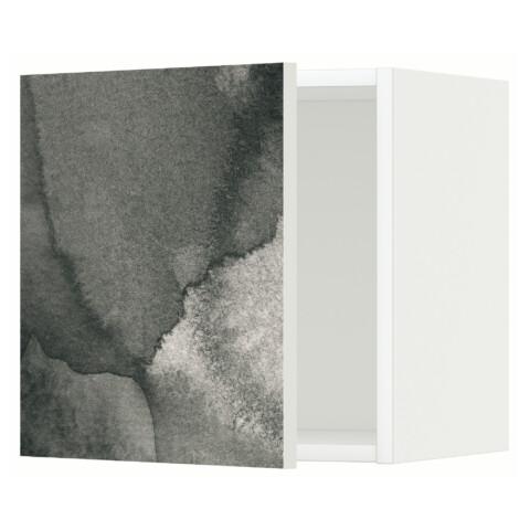 Шкаф навесной МЕТОД белый артикуль № 991.588.88 в наличии. Интернет каталог IKEA Минск. Быстрая доставка и соборка.