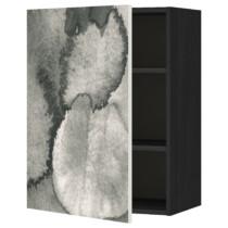 Шкаф навесной с полкой МЕТОД черный артикуль № 691.589.03 в наличии. Онлайн магазин ИКЕА РБ. Недорогая доставка и соборка.