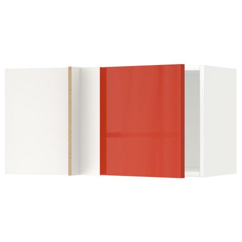 Шкаф навесной угловой МЕТОД белый артикуль № 191.587.88 в наличии. Online каталог IKEA РБ. Быстрая доставка и монтаж.