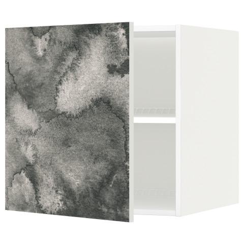 Верхний шкаф на холодильник, морозильник МЕТОД белый артикуль № 691.589.55 в наличии. Интернет каталог IKEA Минск. Недорогая доставка и соборка.