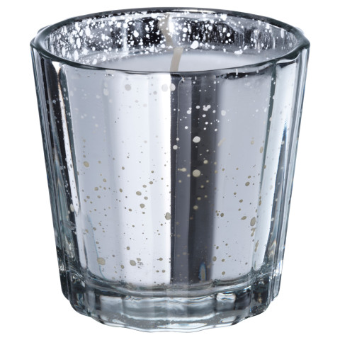 Ароматическая свеча в стакане ВИНТЕР 2016 серебристый артикуль № 503.203.63 в наличии. Онлайн каталог IKEA Беларусь. Недорогая доставка и установка.