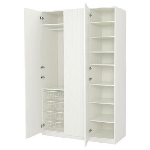 Гардероб ПАКС белый артикуль № 791.812.86 в наличии. Интернет каталог IKEA Минск. Недорогая доставка и монтаж.