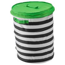 Корзина c крышкой ФЛЮТТБАР зеленый артикуль № 903.288.28 в наличии. Онлайн сайт IKEA Минск. Недорогая доставка и монтаж.