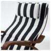 Кресло-качалка ПОЭНГ черный/белый артикуль № 291.813.59 в наличии. Онлайн каталог ИКЕА Минск. Быстрая доставка и установка.