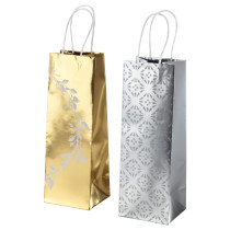 Подарочный пакет ВИНТЕР 2016 золотистый/серебристый артикуль № 503.250.49 в наличии. Online сайт IKEA РБ. Недорогая доставка и монтаж.