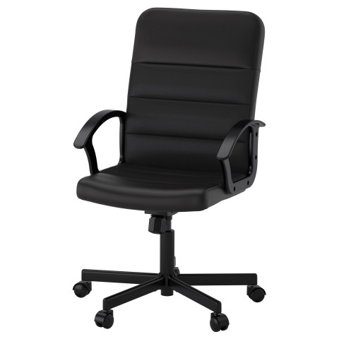 Рабочий стул РЕНБЕРГЕТ черный артикуль № 203.394.20 в наличии. Online сайт IKEA РБ. Быстрая доставка и соборка.