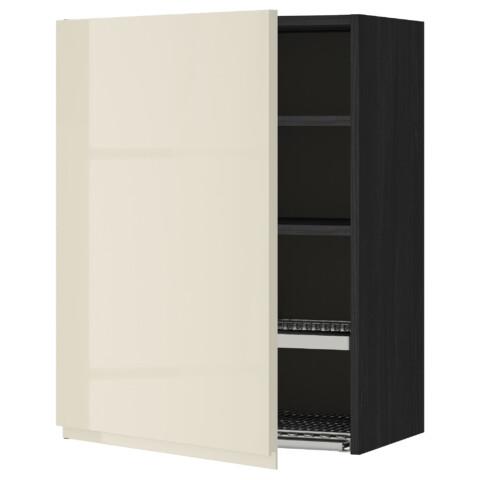 Шкаф навесной с сушкой МЕТОД черный артикуль № 591.432.43 в наличии. Онлайн каталог IKEA Минск. Быстрая доставка и установка.