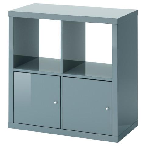 Стеллаж с дверцами КАЛЛАКС артикуль № 491.974.01 в наличии. Интернет магазин IKEA Беларусь. Быстрая доставка и монтаж.