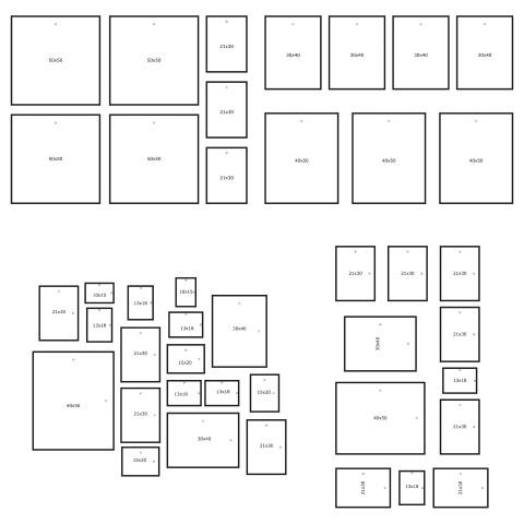 Стенной шаблон, 4 шт. МОТТЭБЮ артикуль № 503.193.74 в наличии. Онлайн каталог IKEA Минск. Недорогая доставка и установка.