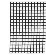 Ткань ДВЭРГБЬЁРК белый/черный артикуль № 103.338.19 в наличии. Онлайн сайт IKEA Минск. Недорогая доставка и установка.