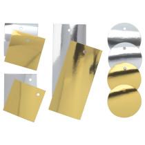 Ярлычки для/подарков, 10 предмета ВИНТЕР 2016 золотистый/серебристый артикуль № 703.265.52 в наличии. Интернет магазин ИКЕА Минск. Недорогая доставка и соборка.