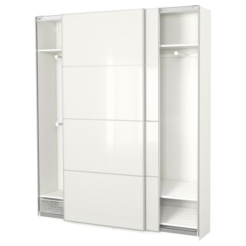 Гардероб ПАКС белый артикуль № 691.670.40 в наличии. Интернет магазин IKEA РБ. Быстрая доставка и соборка.