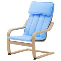 Кресло детское ПОЭНГ синий артикуль № 102.993.92 в наличии. Онлайн магазин ИКЕА Республика Беларусь. Недорогая доставка и установка.