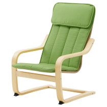 Кресло детское ПОЭНГ зеленый артикуль № 902.993.93 в наличии. Онлайн каталог IKEA РБ. Быстрая доставка и установка.
