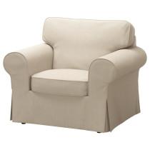 Кресло ЭКТОРП темно-бежевый артикуль № 691.290.86 в наличии. Интернет сайт IKEA РБ. Быстрая доставка и монтаж.