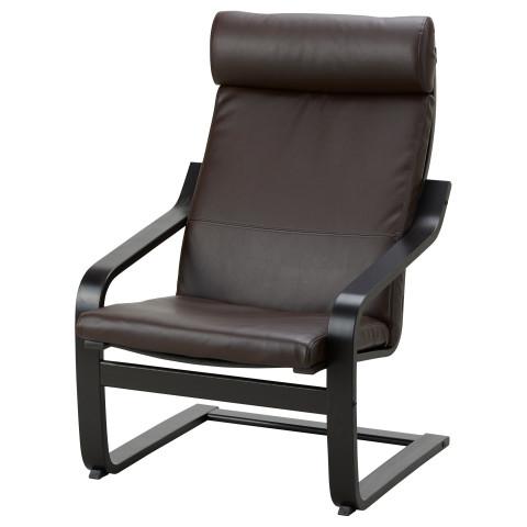 Кресло ПОЭНГ темно-коричневый артикуль № 792.037.97 в наличии. Интернет сайт IKEA РБ. Быстрая доставка и установка.