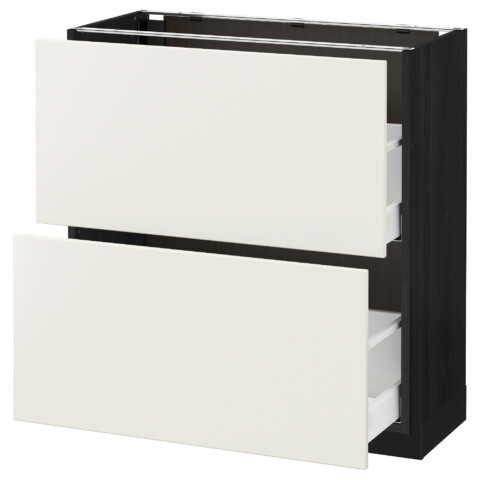 Напольный шкаф с 2 ящиками МЕТОД / МАКСИМЕРА белый артикуль № 291.132.71 в наличии. Интернет сайт IKEA Минск. Недорогая доставка и монтаж.