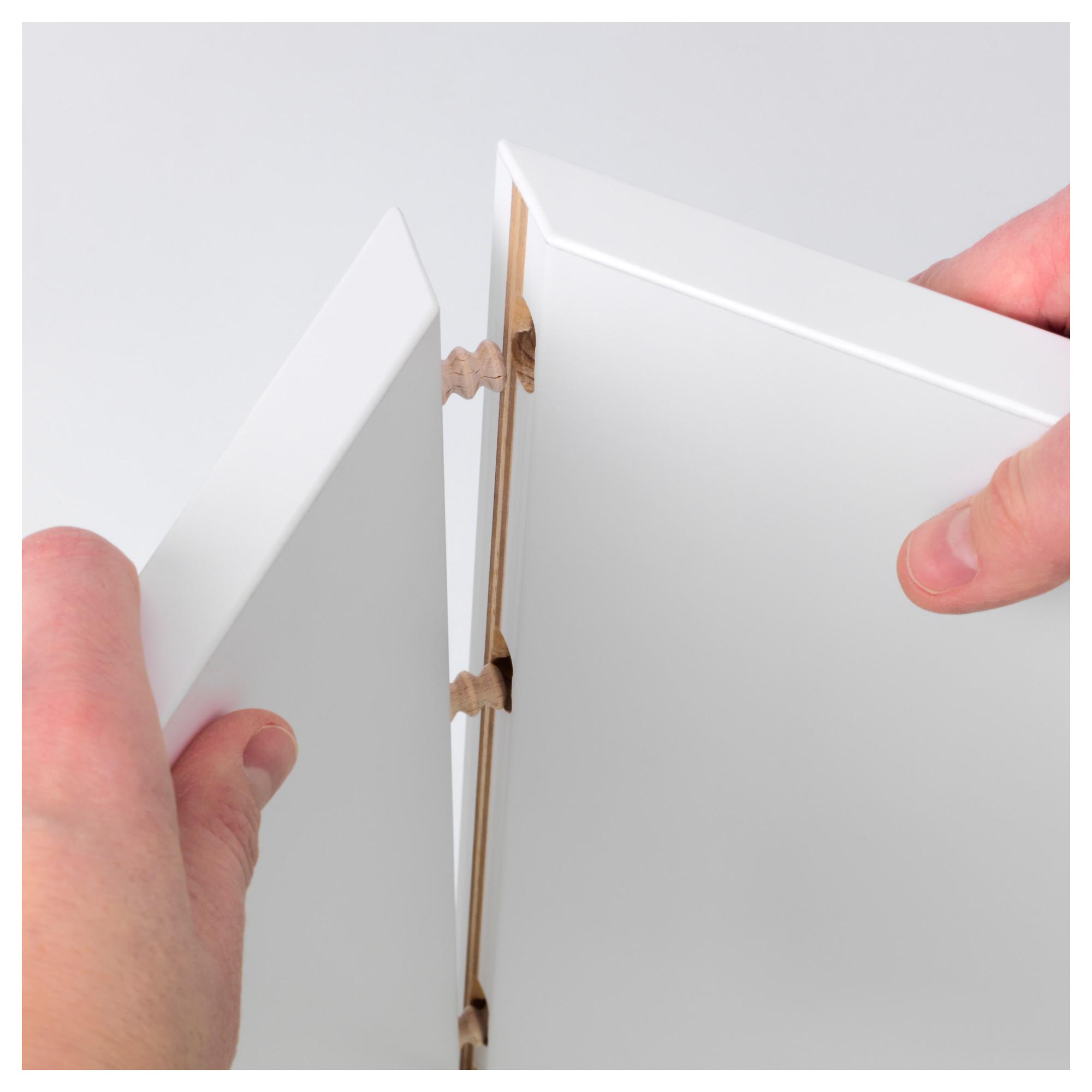 Купить навесной шкафчик вэлье, лиственница белый в ikea (мин.