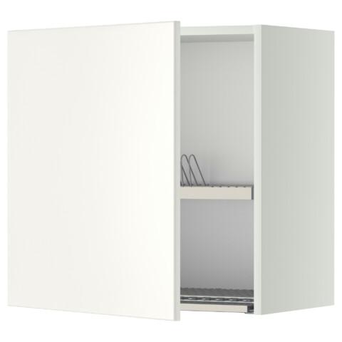 Шкаф навесной с сушкой МЕТОД белый артикуль № 399.207.62 в наличии. Интернет магазин ИКЕА РБ. Быстрая доставка и монтаж.