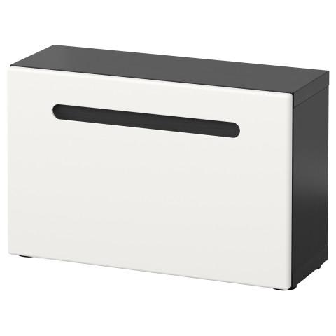 Стеллаж с дверью БЕСТО белый артикуль № 491.247.87 в наличии. Online магазин IKEA Беларусь. Недорогая доставка и монтаж.
