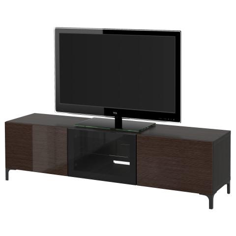 Тумба под ТВ с ящиками и дверцей БЕСТО артикуль № 491.401.22 в наличии. Интернет сайт IKEA РБ. Быстрая доставка и монтаж.