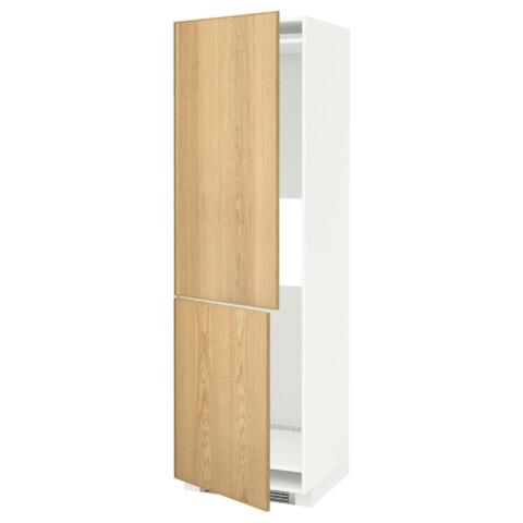 Высокий шкаф для холодильника или морозильник МЕТОД белый артикуль № 990.532.97 в наличии. Online магазин IKEA Минск. Недорогая доставка и соборка.
