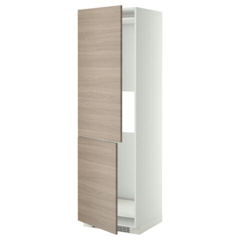 Высокий шкаф для холодильника или морозильник МЕТОД белый артикуль № 999.254.41 в наличии. Онлайн сайт IKEA Республика Беларусь. Быстрая доставка и соборка.