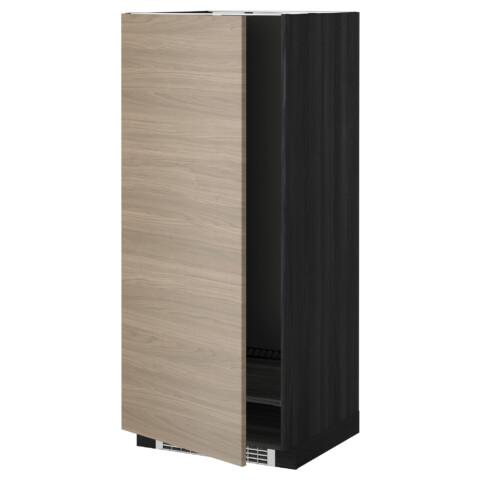 Высокий шкаф для холодильника или морозильника, МЕТОД черный артикуль № 699.254.66 в наличии. Интернет каталог ИКЕА РБ. Быстрая доставка и монтаж.