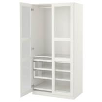Гардероб ПАКС белый артикуль № 791.688.26 в наличии. Онлайн каталог IKEA Республика Беларусь. Недорогая доставка и монтаж.