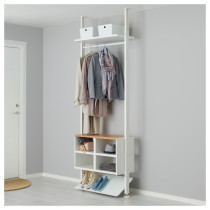 1 секция ЭЛВАРЛИ белый артикуль № 391.837.77 в наличии. Онлайн сайт IKEA Беларусь. Недорогая доставка и монтаж.