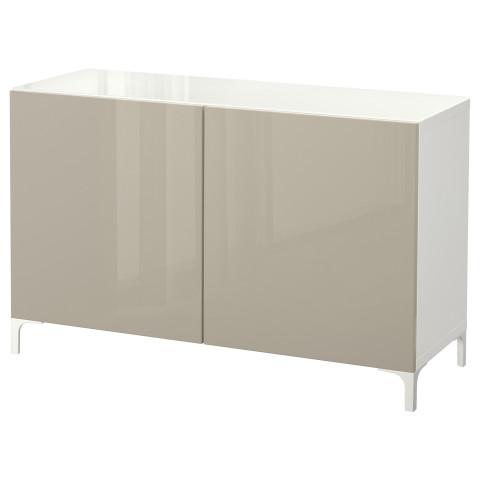 Комбинация для хранения с дверцами БЕСТО белый артикуль № 892.101.70 в наличии. Online каталог IKEA Минск. Недорогая доставка и установка.