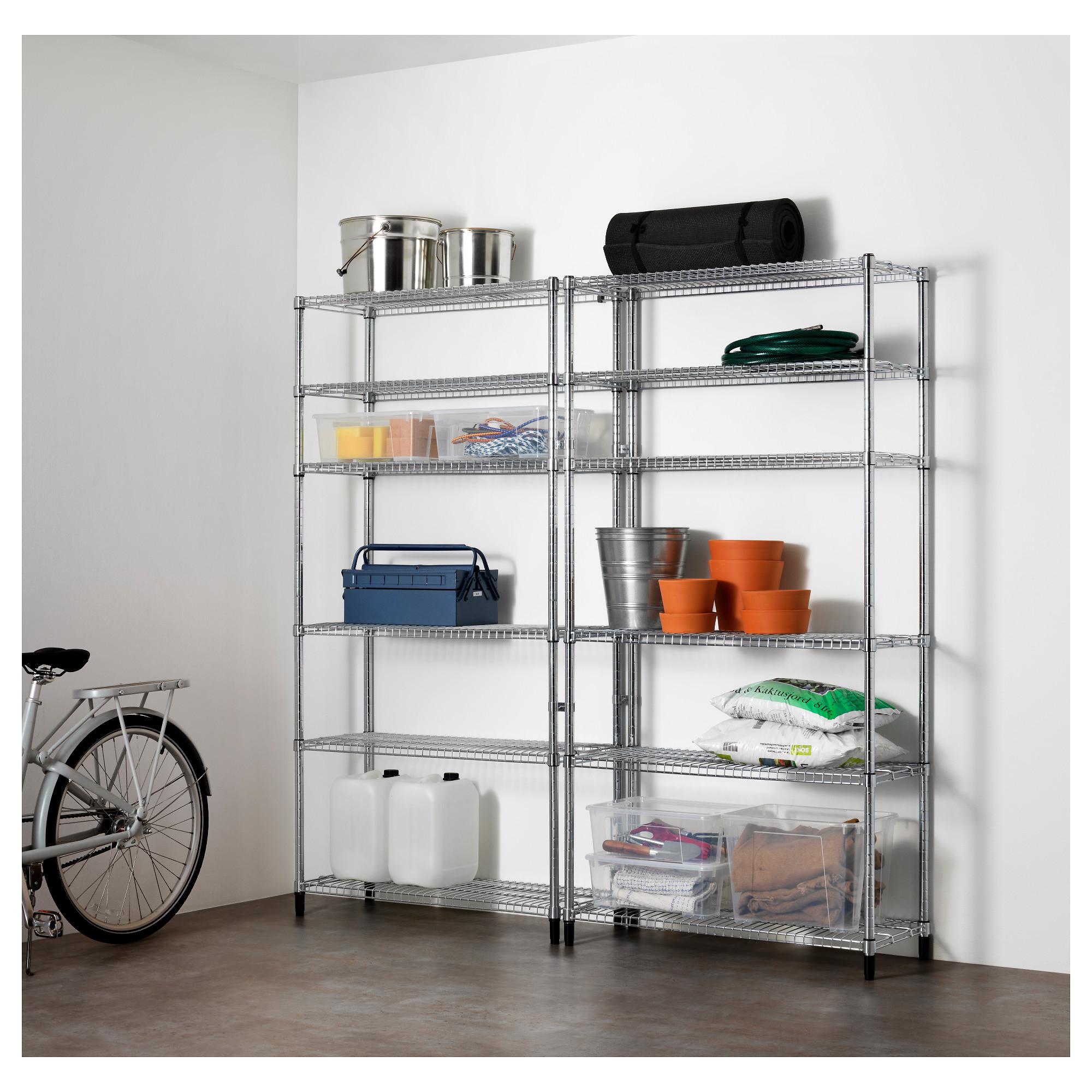 2 секции полок ОМАР артикуль № 491.875.48 в наличии. Онлайн каталог IKEA Беларусь. Недорогая доставка и монтаж.