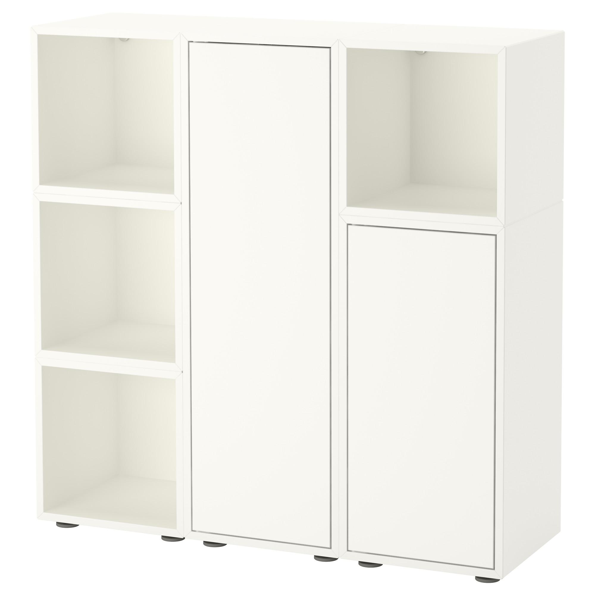 Купить комбинация шкафов с ножками экет, белый в икеа (минск.