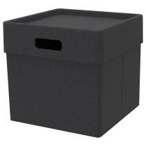Коробка ЭКЕТ темно-серый артикуль № 203.603.55 в наличии. Online каталог ИКЕА РБ. Быстрая доставка и установка.